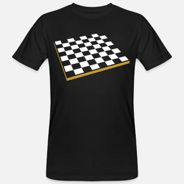 Chess Board Chess board - Men's Organic T-Shirt
