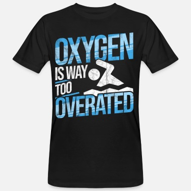 Outdoor Swimming Pool Swimming Oxygen Diving Swimming Pool Outdoor Swimming Pool Water - Men's Organic T-Shirt