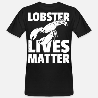 Lobster lobster crayfish cancer crab - Men's Organic T-Shirt