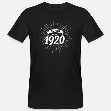 1920 Super sinds 1920 - Mannen bio T-shirt
