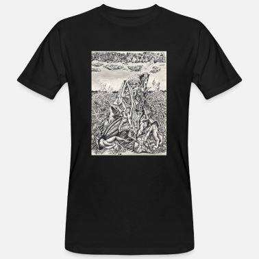 Intimidating Intimidation by Brian benson - Men's Organic T-Shirt
