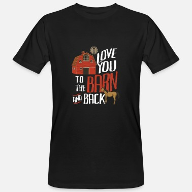 I Love I love to ride you out - Men's Organic T-Shirt