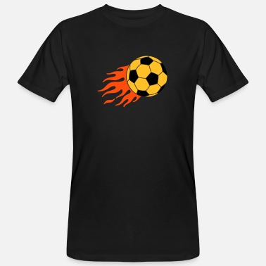 Striker burning ball - Men's Organic T-Shirt