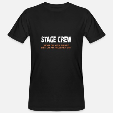 Stage Stage Crew | Roadie - Men's Organic T-Shirt
