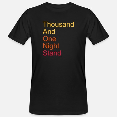 Datum thousand and one night stand 3colors - Ekologisk T-shirt herr