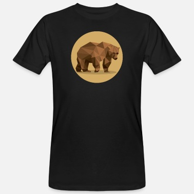 Brun ours brun - T-shirt bio Homme