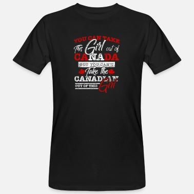 Canadian Girls Canada - Men's Organic T-Shirt