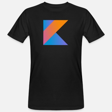 Open Source programmeur nerd computerbron nieuw K sign pc c - Mannen bio T-shirt