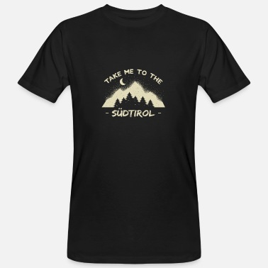 tyrol mountains hiking tiroler bavaria climbers - Men's Organic T-Shirt