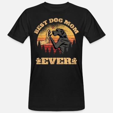Labradoodle Mom Herren Best DOG MoM Ever Funny Doggen MoM Geschenk - Männer Bio T-Shirt