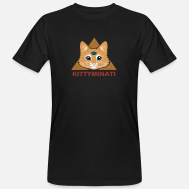 Cats And Dogs Collection Kittyminati - Miesten luomu t-paita