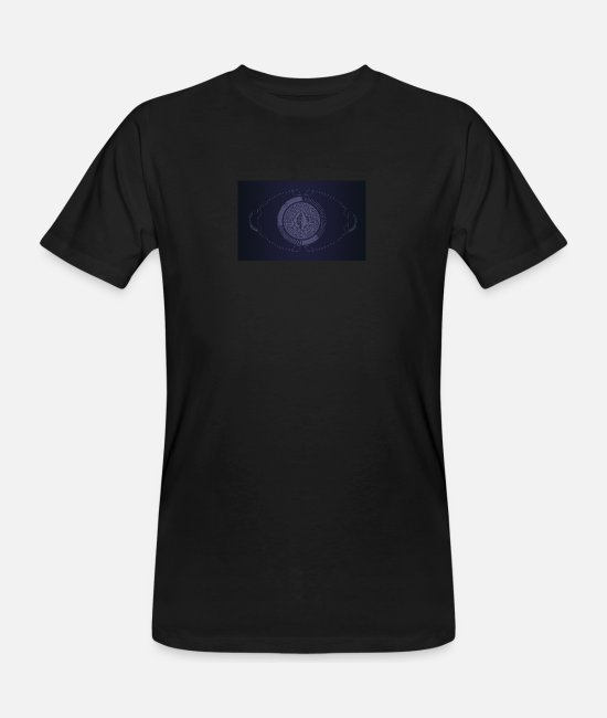 Eye T-Shirts - Technology as an eye - Men's Organic T-Shirt black
