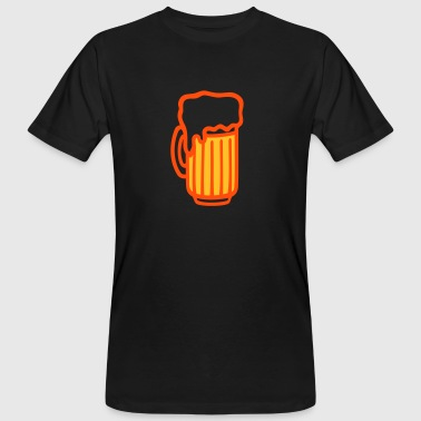 Pint - Beer glass - Men's Organic T-shirt