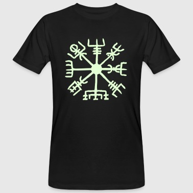 Vegvisir, Magic, Runes,  Protection & Navigation - T-shirt bio Homme