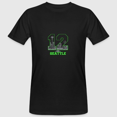 twelve seattle - Männer Bio-T-Shirt