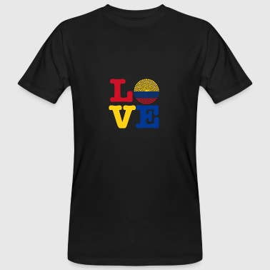 Colombia HEART - Men's Organic T-shirt