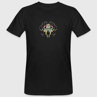 Geometric octopus - Men's Organic T-shirt