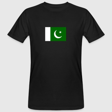Nationale Vlag Van Pakistan - Mannen Bio-T-shirt