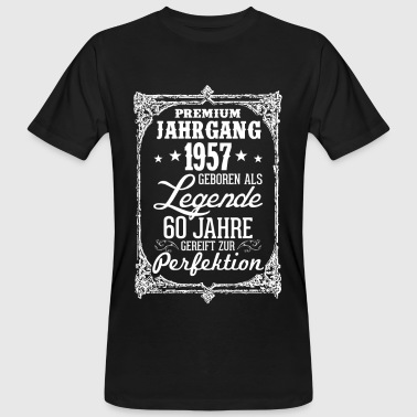 60 - 1957 - Legende - Perfektion - 2017 - DE - Männer Bio-T-Shirt