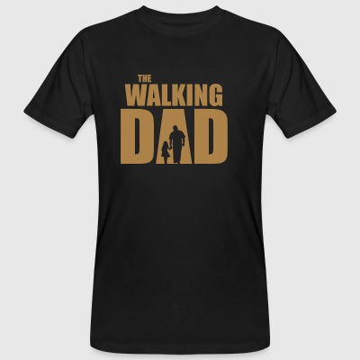The Walking Dad - Mannen Bio-T-shirt