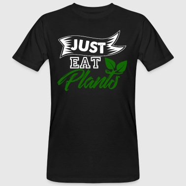 Just Eat Plants - Men's Organic T-shirt