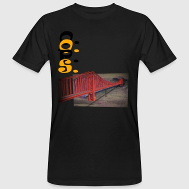 golden gate - Mannen Bio-T-shirt