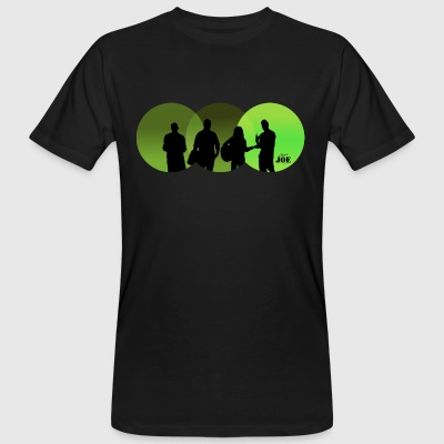 Motive Cheerio Joe green - Men's Organic T-shirt