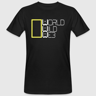 World wild web - T-shirt ecologica da uomo