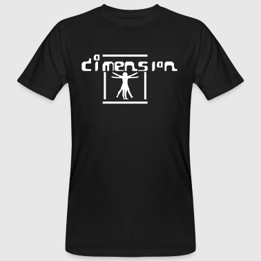 Dimension - Männer Bio-T-Shirt