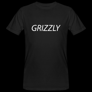 Grizzly in white - Men's Organic T-shirt