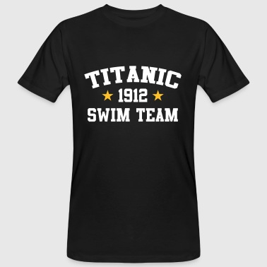 Titanic Swim Team 1912 - Mannen Bio-T-shirt