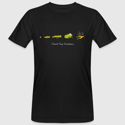 French frog evolution - Men's Organic T-shirt