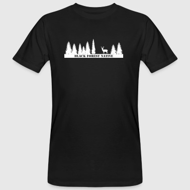 Black Forest Native - Männer Bio-T-Shirt