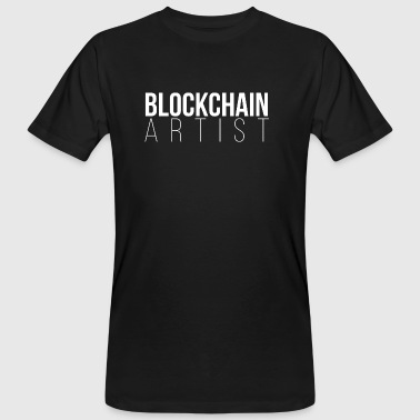 BLOCKCHAIN ​​ARTIST - Men's Organic T-shirt