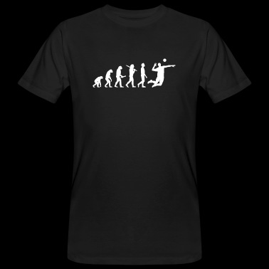 Volleyball Volleyball Player Evolution - Men's Organic T-shirt