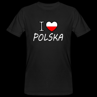 I love Polska - Men's Organic T-shirt