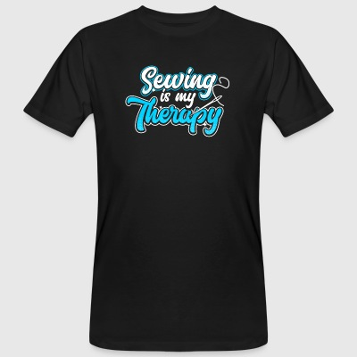 Sewing is my Therapy - Men's Organic T-shirt