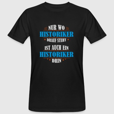 Historien cadeau d'occupation - T-shirt bio Homme