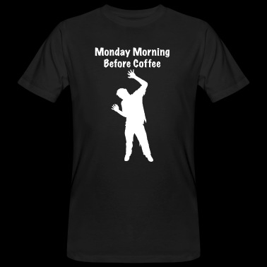 Coffee Zombie - Mannen Bio-T-shirt
