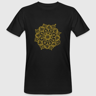Yoga brings out the gold in you. - Men's Organic T-shirt