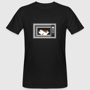 The hamster in the microwave - Men's Organic T-shirt