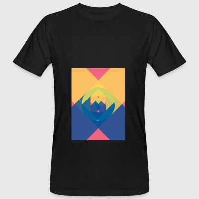 square and shadow - Men's Organic T-shirt