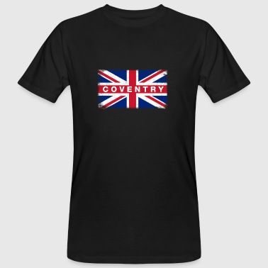 Coventry Shirt Vintage United Kingdom Flag T-Shirt - Men's Organic T-shirt
