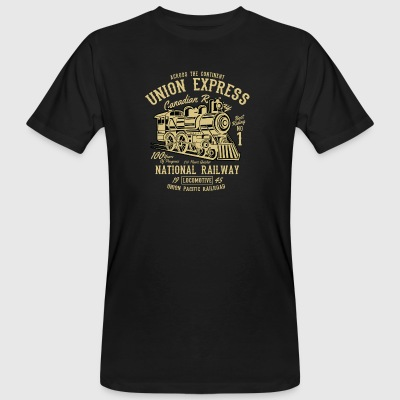 Union Express - Männer Bio-T-Shirt