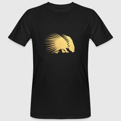 gold porcupine - Men's Organic T-shirt