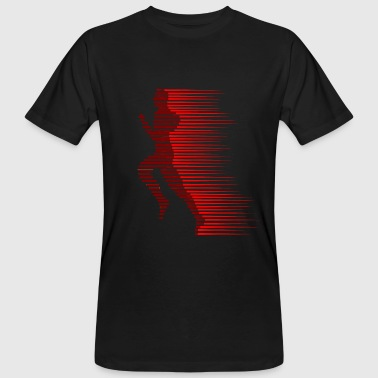 red runner - Männer Bio-T-Shirt