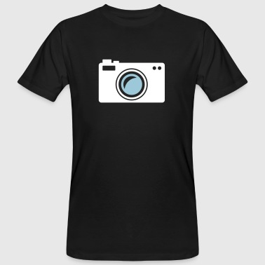 Camera - Mannen Bio-T-shirt