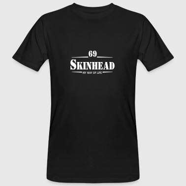 1 colors - Skinhead My Way of Life Skinheads Bootboys Rudeboys Skins Oi! - Ekologisk T-shirt herr