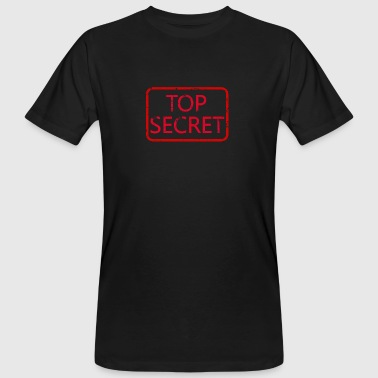 Top Secret - Mannen Bio-T-shirt