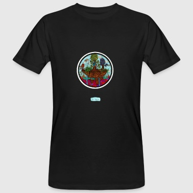 The hut of the floating tree - Men's Organic T-shirt